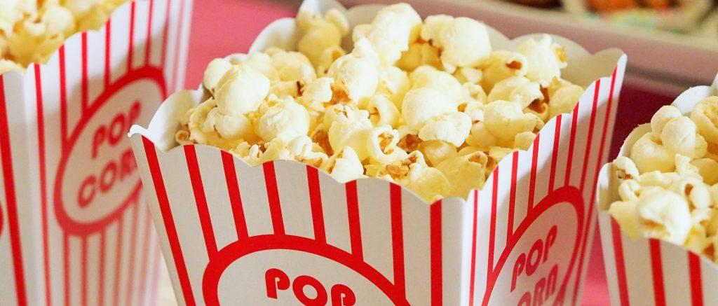 popcorn in uitdeeldoos FunStunter