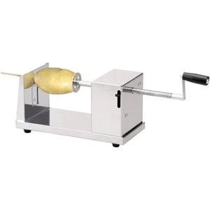 Aardappel-spiraal-snijmachine
