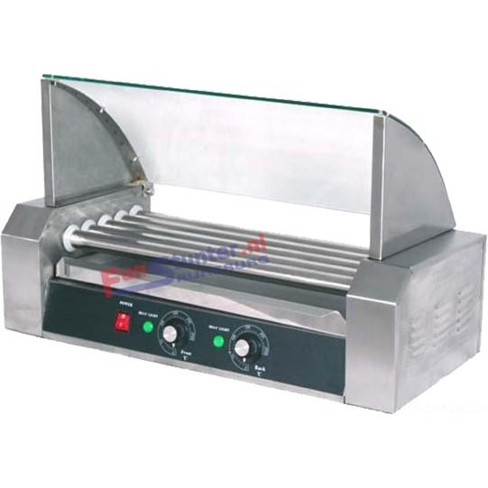 HotDog machine 5 rollen Worsten grill