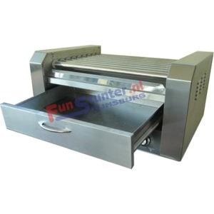 HotDogmachine FS-HDL11 Worsten grill 11 rollen met warmhoud lade