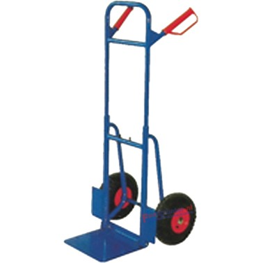 Steekwagen Opklapbaar en inschuifbaar op brede luchtbanden