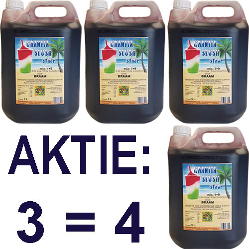 GranitaSlush siroop Aktie 3=4 Braam Goedkoop