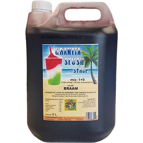 5L Granitaice Slushijs Braam Paars 5 liter Sneky