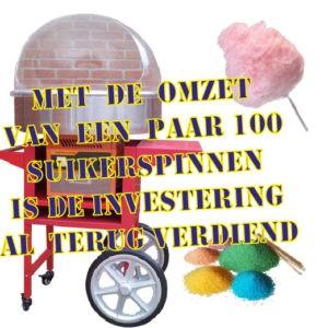Suikerspinapparaat Gratis Suikerspinmachine FunStunter