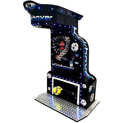 VoetbalKicker Boksautomaat zwart FunStunter