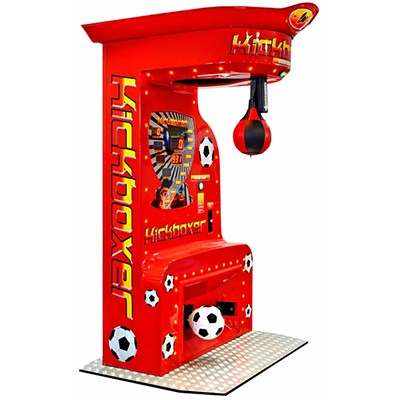 Kicker-Boksmachine-combinatie-rood-FunStunter