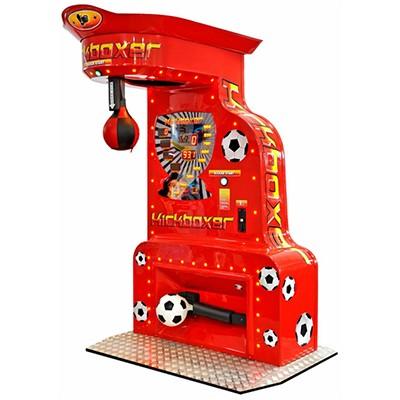 Voetbal Boksmachine combinatie VoetbalKicker rood FunStunter
