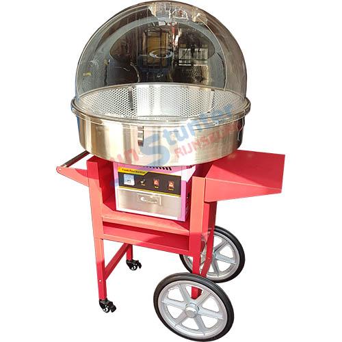 Suikerspinmachine FS-L70 windkap FS-WK70 wagen professioneel
