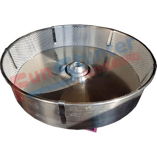 Suikerspinnet, Net voor in de suikerspinmachine met klemmen