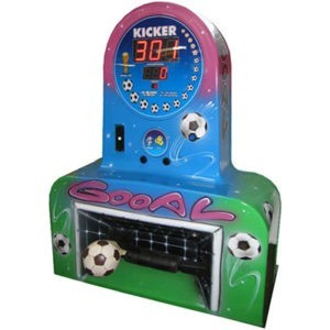 voetbalmachine met muntinworp Soccer VoetbalKicker FunStunter